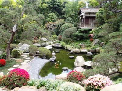 Vườn Nhật với sự kết hợp của nước