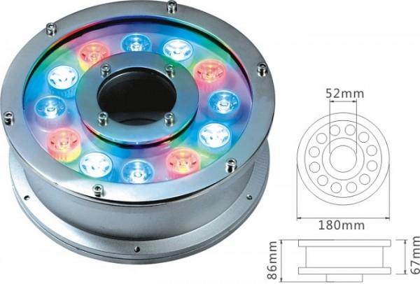 Đèn hình bánh xe 12w