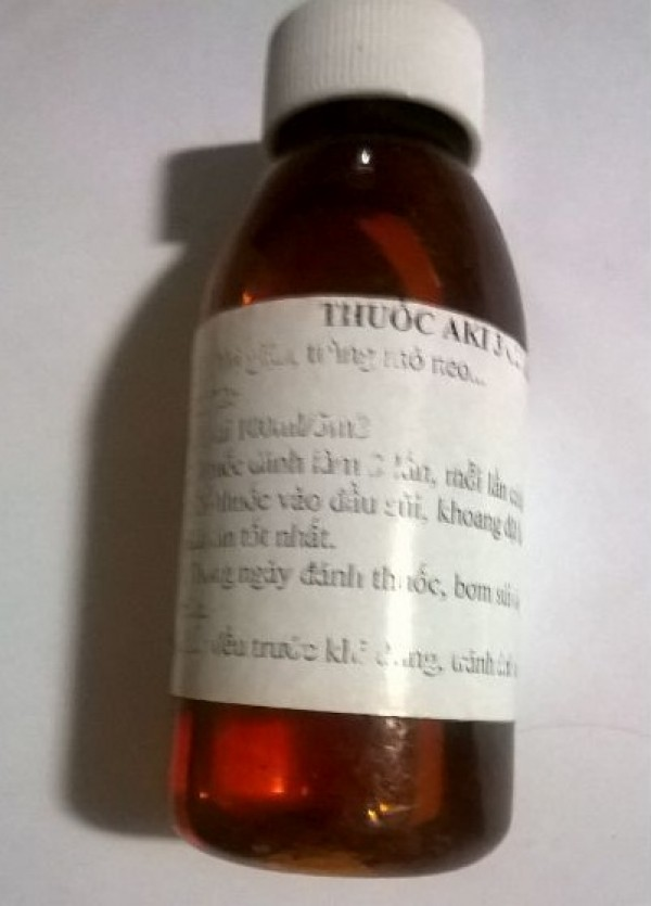 Thuốc Aki3 chai số 2